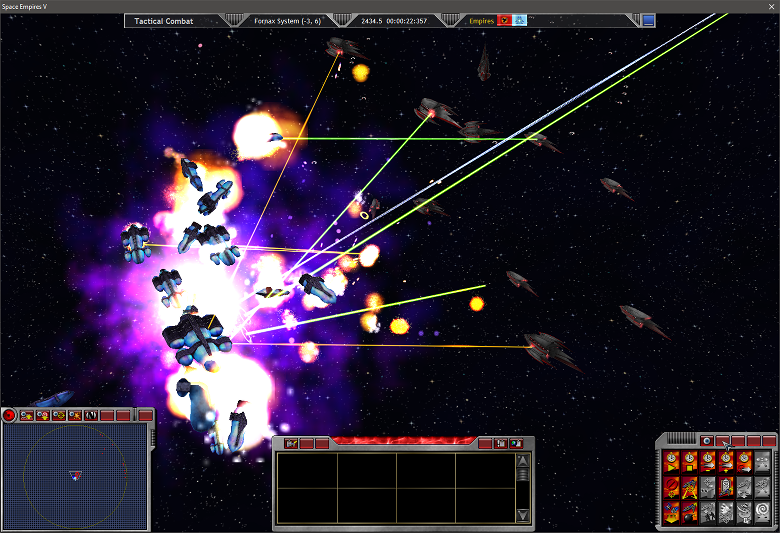 EEE Fleet Attacks the Fornax-Firaxis WP in 2434.5