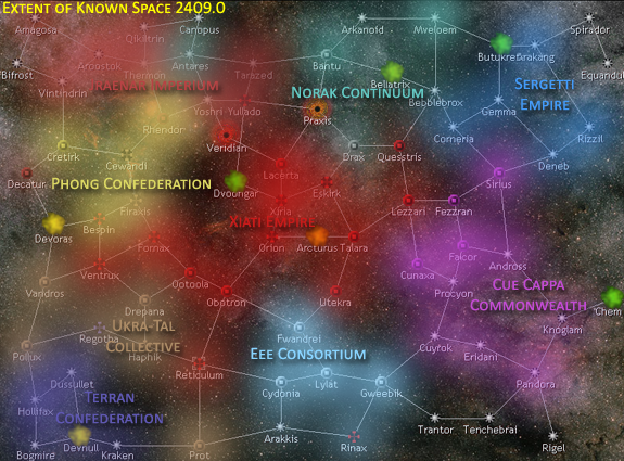 Map of Known Space 2409.0